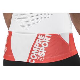 Compressport Trail Running V2 - Camiseta Running Hombre - rojo/blanco